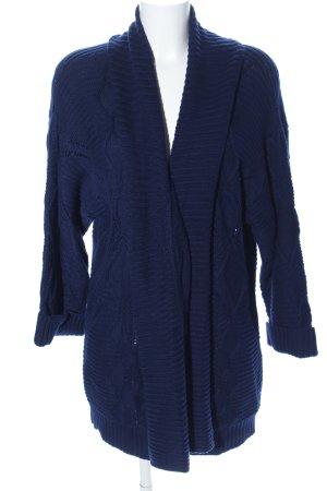 Polo Ralph Lauren Grobstrickjacke blau Casual-Look