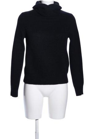 Polo Ralph Lauren Grof gebreide trui zwart casual uitstraling