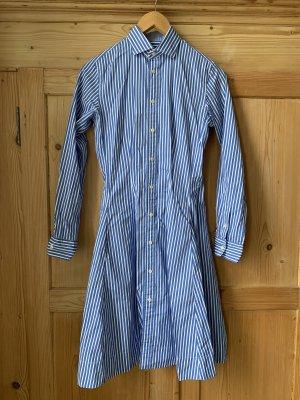Polo Jeans Co. Ralph Lauren Koszulowa sukienka niebieski-biały