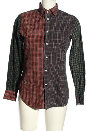 Polo Ralph Lauren Holzfällerhemd rot-grün Allover-Druck Casual-Look