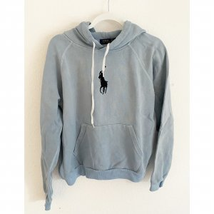 Polo Ralph Lauren Sweter oversize błękitny-ciemnoniebieski