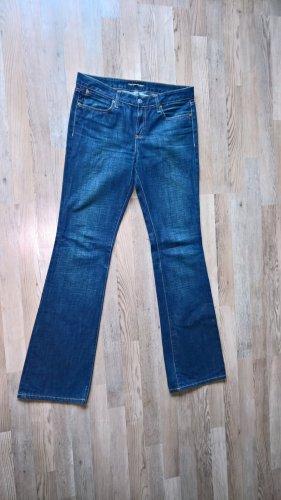 Ralph Lauren Polo Jeans Jeansy o kroju boot cut niebieski Bawełna