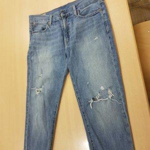 Polo Ralph Lauren Jeans boyfriend azzurro Cotone