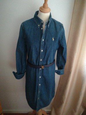 Polo Ralph Lauren Jeanskleid, tailliert, Größe M