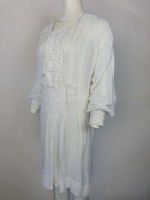 Polo Ralph Lauren Kleid mit Stickerei Gr.42/XL weiß