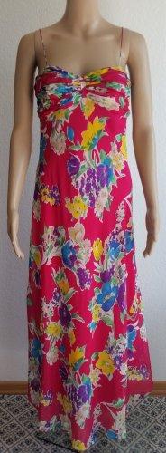 Polo Ralph Lauren, Kleid, Pink floral, 34 (US 4), Seide, neu mit Etikett, RRP € 550,-
