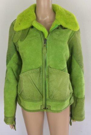 Polo Ralph Lauren, Lamb Shearling Jacket, kiwi green, M, neu, € 2.000,-