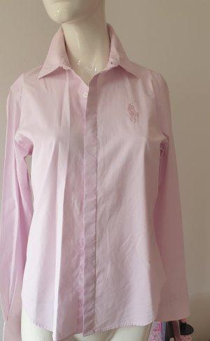 Lauren by Ralph Lauren Blouse met opstaande kraag rosé-lichtroze