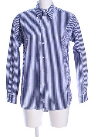 Polo Ralph Lauren Langarmhemd blau-weiß Streifenmuster Casual-Look