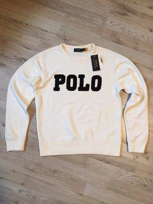 Polo Ralph Lauren Bluza dresowa biały-czarny Bawełna