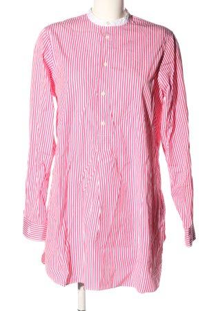 Polo Ralph Lauren Blusa larga rosa-blanco estampado a rayas look casual