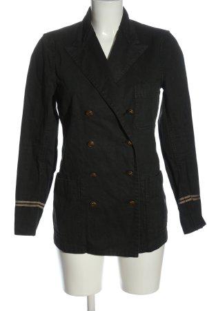 Polo Ralph Lauren Granatowa kurtka czarny W stylu casual