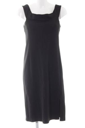 Polo Ralph Lauren Vestido a media pierna negro elegante