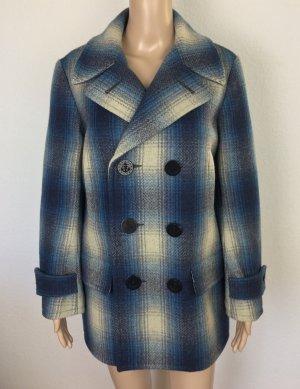 Polo Ralph Lauren Marynarska kurtka niebieski Wełna