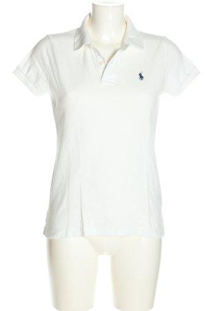 Polo Ralph Lauren Polo-Shirt weiß Casual-Look