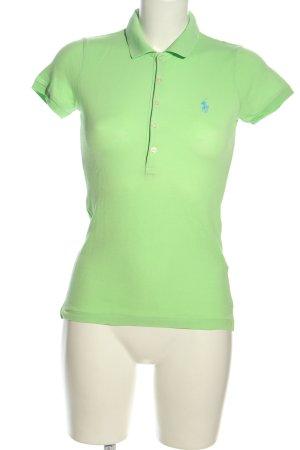 Polo Ralph Lauren Polo-Shirt blassgelb Casual-Look