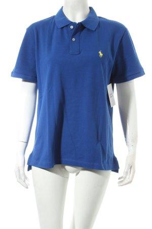 Polo Ralph Lauren Camiseta tipo polo azul oscuro look casual