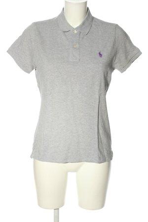 Polo Ralph Lauren Polo-Shirt hellgrau Casual-Look