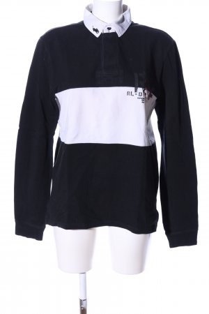 Polo Ralph Lauren Polo-Shirt schwarz-weiß Casual-Look