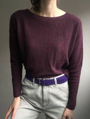 Polo Ralph Lauren Maglione oversize lilla-marrone-viola