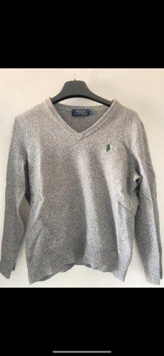 Polo Ralph Lauren Jersey de lana gris