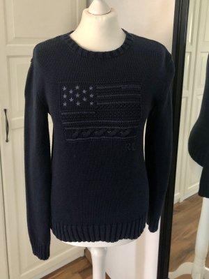Polo Ralph Lauren Jersey de cuello redondo azul oscuro