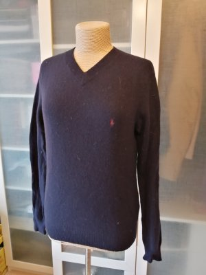Polo Ralph Lauren Pullover Wolle dunkelblau Gr. S