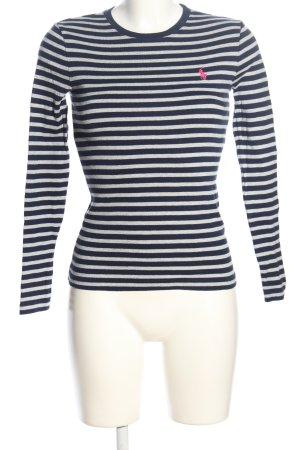Polo Ralph Lauren Ringelshirt schwarz-weiß Streifenmuster Casual-Look