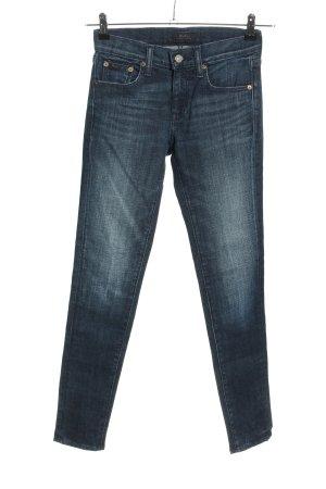 Polo Ralph Lauren Jeansy rurki niebieski W stylu casual