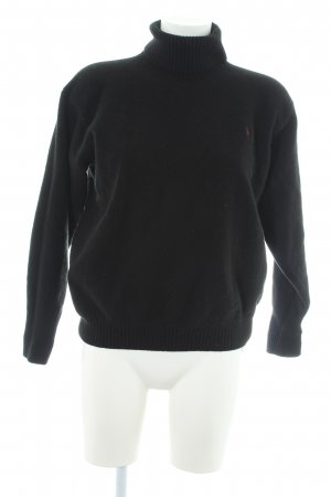 Polo Ralph Lauren Rollkragenpullover schwarz Casual-Look