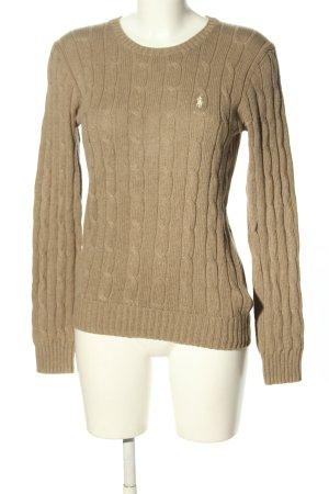 Polo Ralph Lauren Crewneck Sweater brown casual look