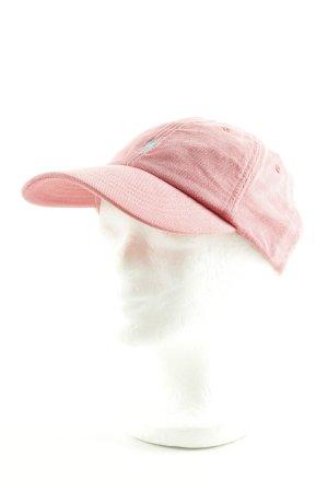 Polo Ralph Lauren Schirmmütze pink Schriftzug gestickt Casual-Look