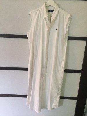 Polo Ralph Lauren Shirt Kleid weiß