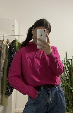 Polo Ralph Lauren Shirt Poloshirt Lang Pink Rosa