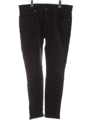 Polo Ralph Lauren Skinny Jeans schwarz Casual-Look