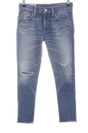 Polo Ralph Lauren Skinny Jeans blau Casual-Look