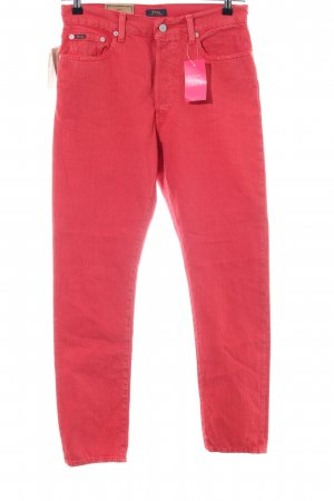 Polo Ralph Lauren Slim Jeans rot Casual-Look