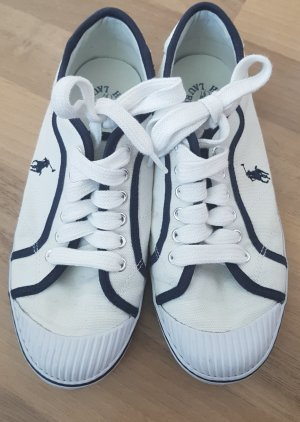 Polo Ralph Lauren Sneaker, Gr. 36,5, weiß blau