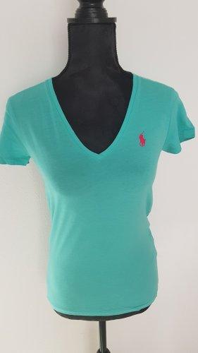 Polo Ralph Lauren Sport, Tshirt, kurzarm,Gr. XS, mintfarben, Neu