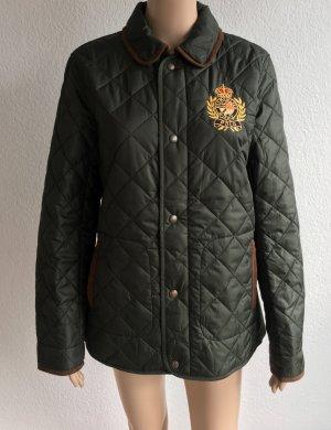Polo Ralph Lauren, Steppjacke, M, grün, Polyester, Wildleder, neu