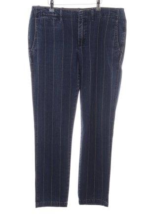 Polo Ralph Lauren Straight-Leg Jeans blau Streifenmuster Casual-Look