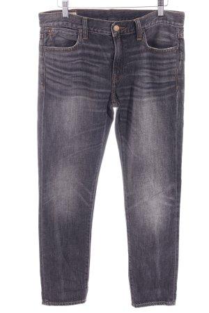 Polo Ralph Lauren Straight-Leg Jeans dunkelgrau Casual-Look
