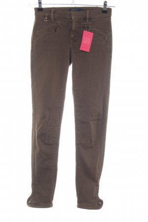 Polo Ralph Lauren Stretchhose braun Casual-Look
