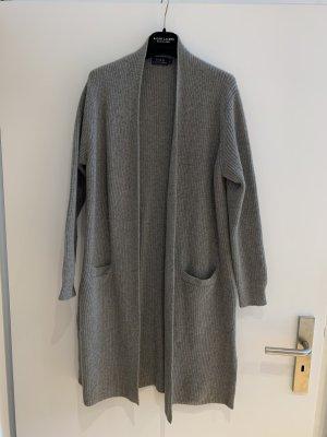 Polo Ralph Lauren Płaszcz z dzianiny szary