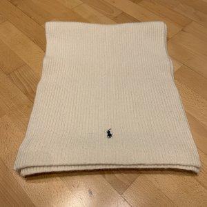 Polo Ralph Lauren Sciarpa di lana bianco sporco Lana merino