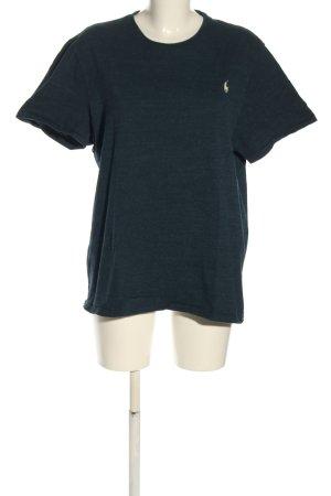 Polo Ralph Lauren T-Shirt grün meliert Casual-Look
