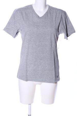 Polo Ralph Lauren T-Shirt hellgrau meliert Casual-Look