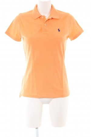 Polo Ralph Lauren T-Shirt hellorange Business-Look