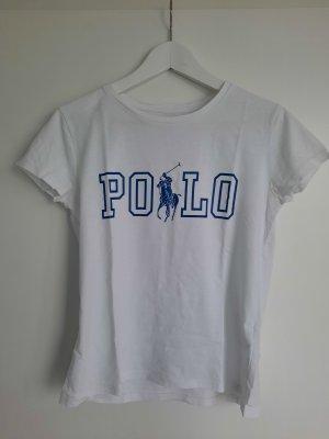 Polo Ralph Lauren T-shirt bianco-blu Cotone