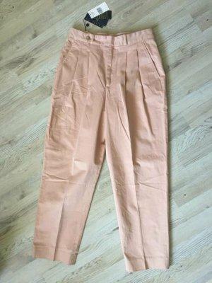 Polo Ralph Lauren Pantalón de pinza rosa empolvado-rosa claro Algodón
